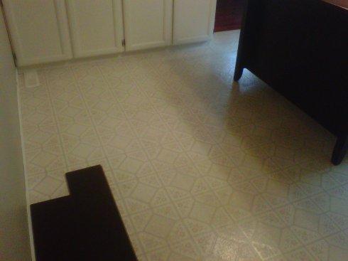Finally the Floor!