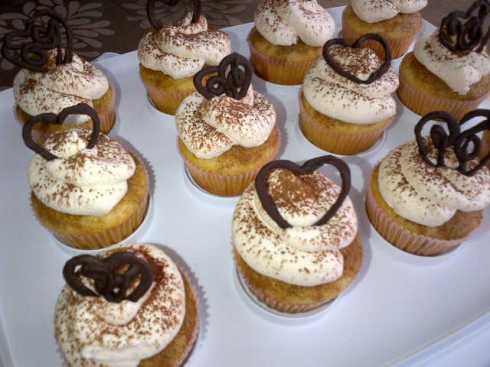 Chocolate Heart Cupcakes!