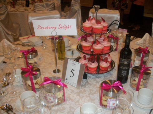 Strawberry Delight Table!