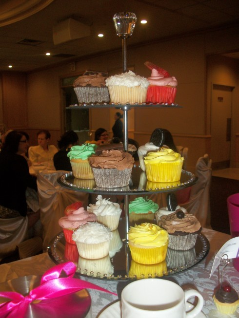 A Cupcake Themed Bridal Shower!