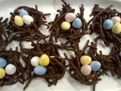 Chocolate Eggie Nests