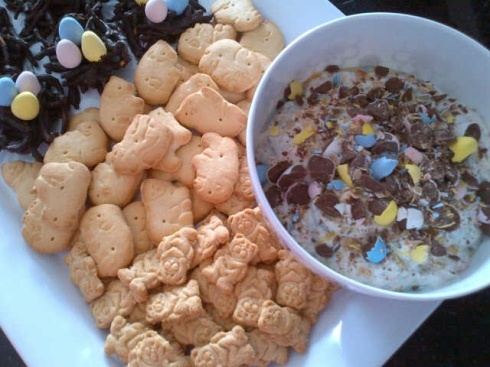 Eggie Cracker Dip