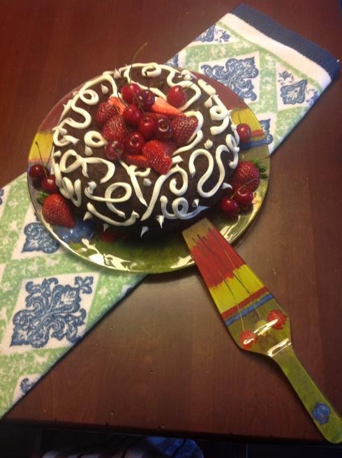 Quick Cake Decor