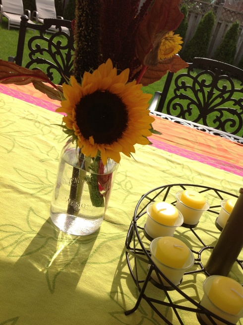 Sunny Table