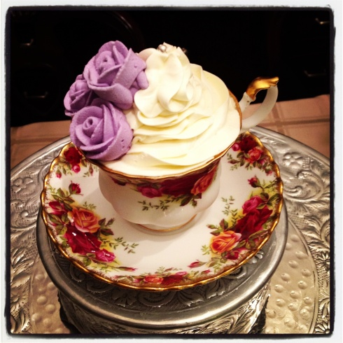 Cupcake in a Teacup!
