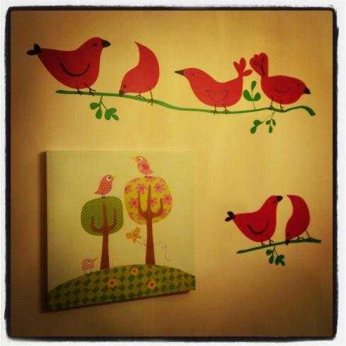 Birdie Decal
