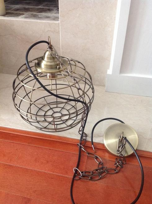 Wire Cage Pendant