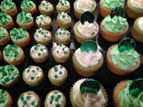 Celebrating St. Patrick 's Day!