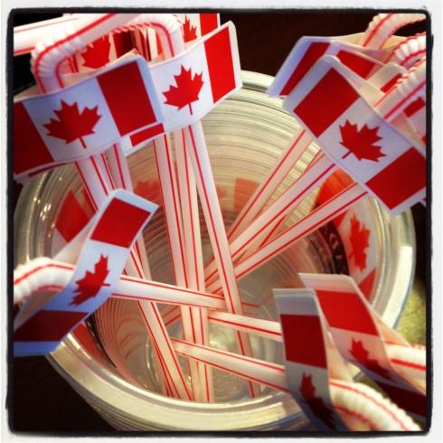 Canada Day Straws!
